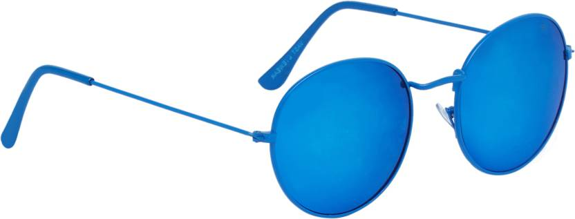 0c6ff22638 Buy Vast Round Sunglasses Blue For Men   Women Online   Best Prices ...