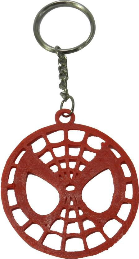 Tesseract Spiderman Logo Red Keychain Key Chain Price in India - Buy ... 4e1fca823