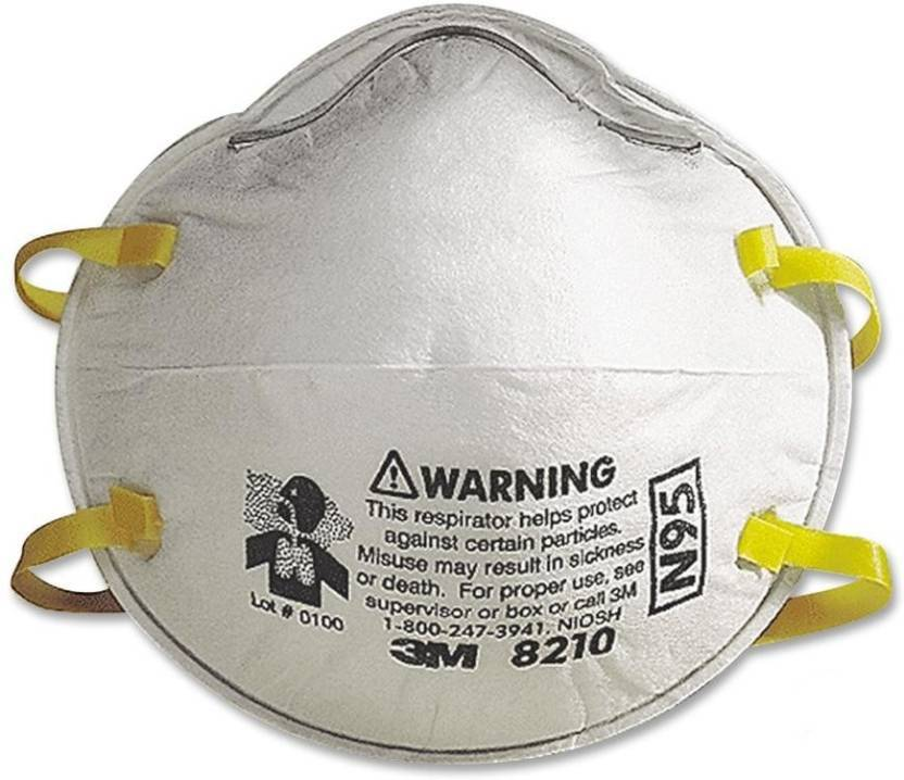 And Of Mask 3m Swine Flu Respirator 3 N95 Pack Arex 8210