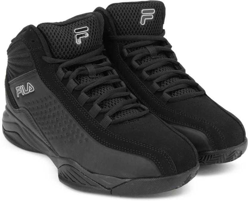 06c0dd0afd0 Fila ENTRAPMENT 3 Basketball Shoes For Men - Buy BLK BLK MET SIL ...