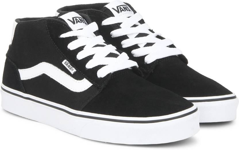 2f4ea52b6c Vans Chapman Mid Sneakers For Men - Buy Black Color Vans Chapman Mid ...