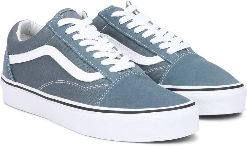 Vans Old Skool Sneakers For Men - Buy Blue Color Vans Old Skool ... e9a8d869d