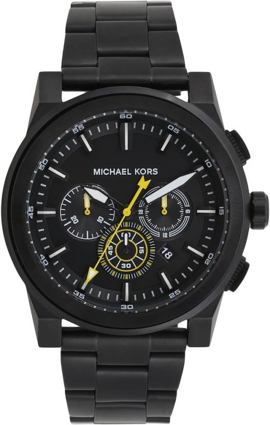 79f74acf69ee Michael Kors MK8600 GRAYSON Watch - For Men - Buy Michael Kors MK8600  GRAYSON Watch - For Men MK8600 Online at Best Prices in India
