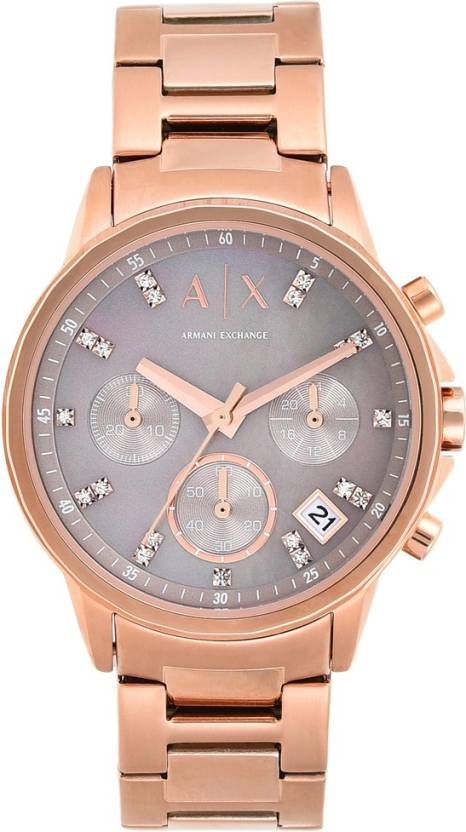 22e1ee4614c Armani Exchange AX4354 LADY BANKS Watch - For Women - Buy Armani Exchange  AX4354 LADY BANKS Watch - For Women AX4354 Online at Best Prices in India  ...