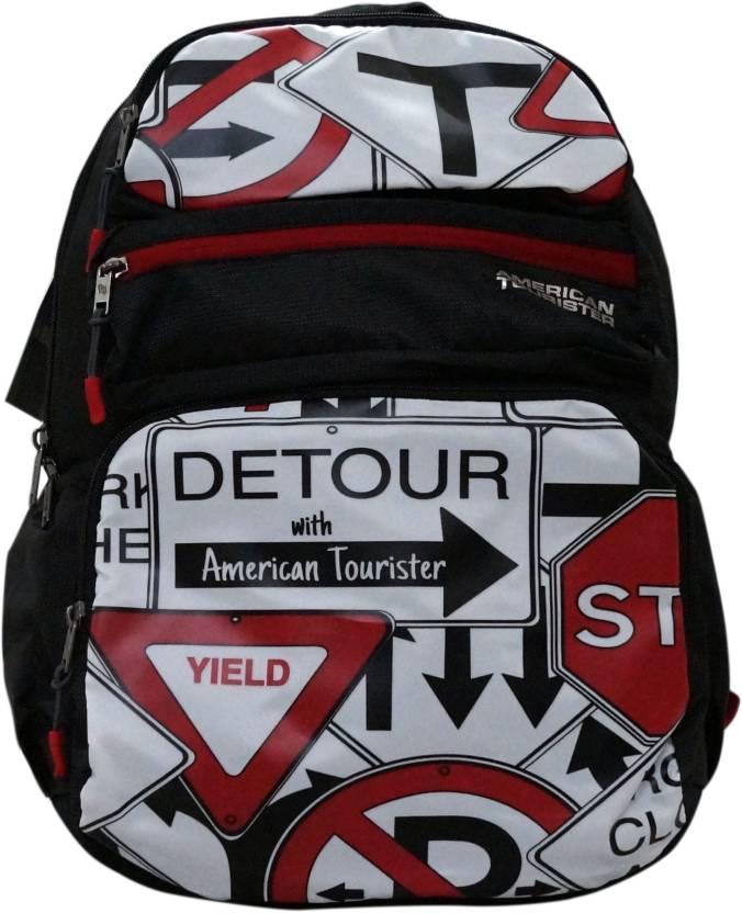 350eeb1b8829 American Tourister TANGO PLUS 02 BLACK 34 L Backpack