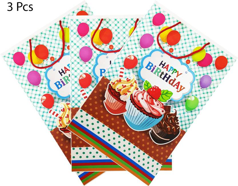 Confidence Return Gifts Bags For Kids Birthday Party Set Of 3