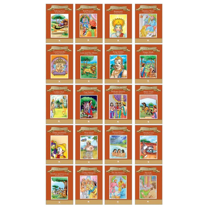 Story Books - Moral Stories (Set of 20 Books) - no: Buy
