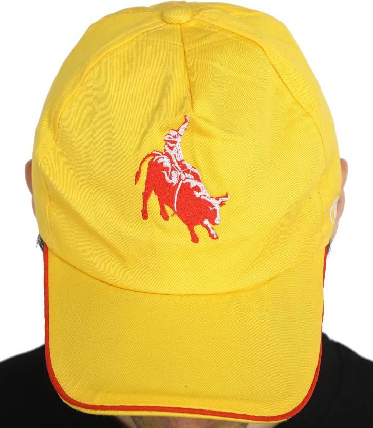 61e802af5c6 Texas USA Stylish Cotton Plain Sports Cap Outdoor Cap Adjustable For  Men Women Yellow Cap