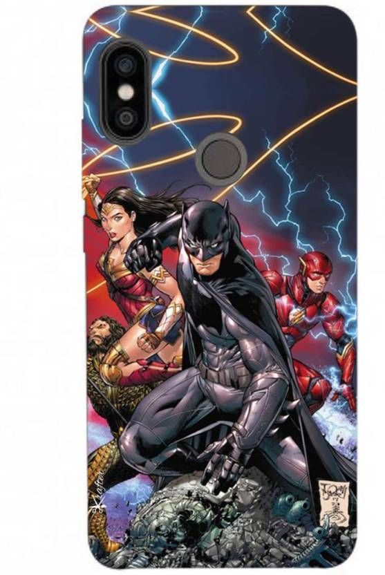 separation shoes f9f04 54c31 Krafter Back Cover for Krafter Redmi Note 5 Pro Mobile Cover Batman ...