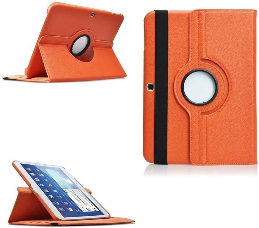 new style 5ed93 5dd20 TGK Book Cover for Samsung Galaxy Tab 4 (10.1 inch) SM-T530, T531, T535 360  Degree Rotating Leather Smart Rotary Swivel Stand Case Cover