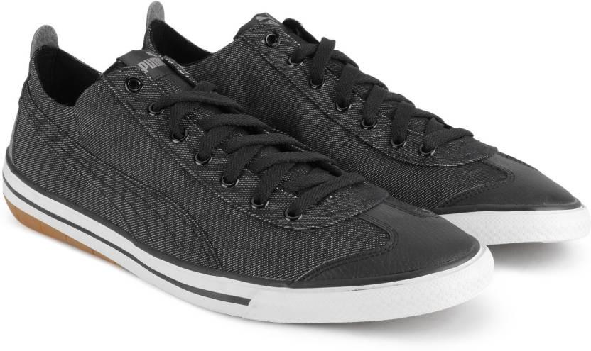Puma 917 FUN Denim IDP Sneakers For Men - Buy Black-Black Color Puma ... a08b1b2f8