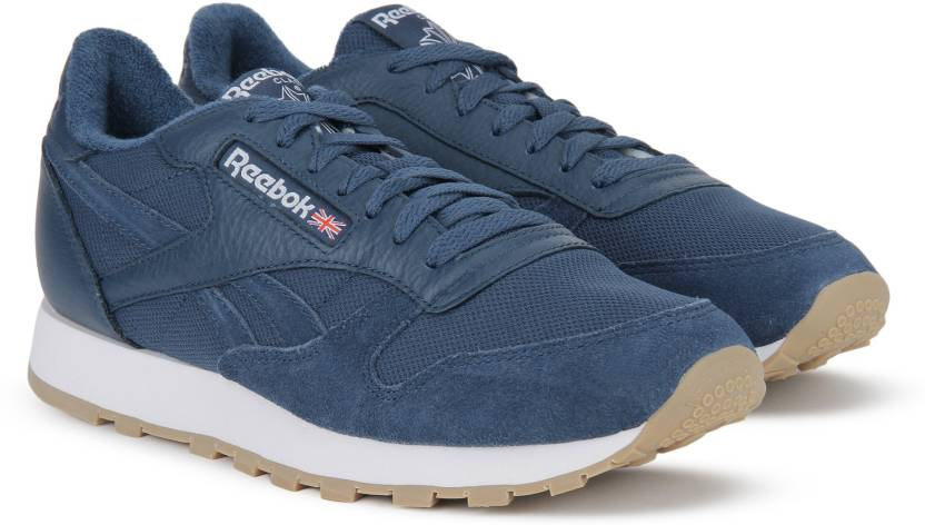 9adde2a150f REEBOK CL LEATHER ESTL Sneakers For Men - Buy WASHED BLUE WHITE ...