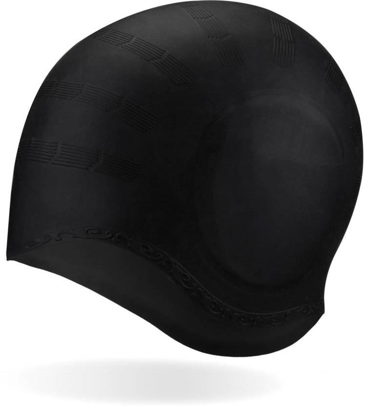 64aca404be9 Xerobic Long Hair Ear Protection Swim Cap