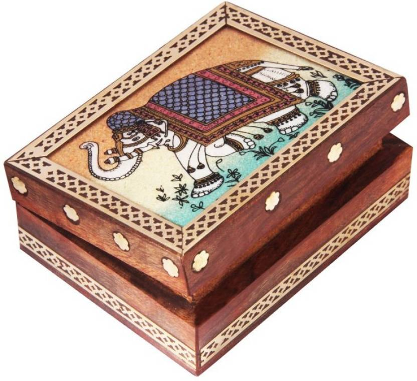 Handicrafts Paradise Jewellery Box Trinket Box Storage Box Out