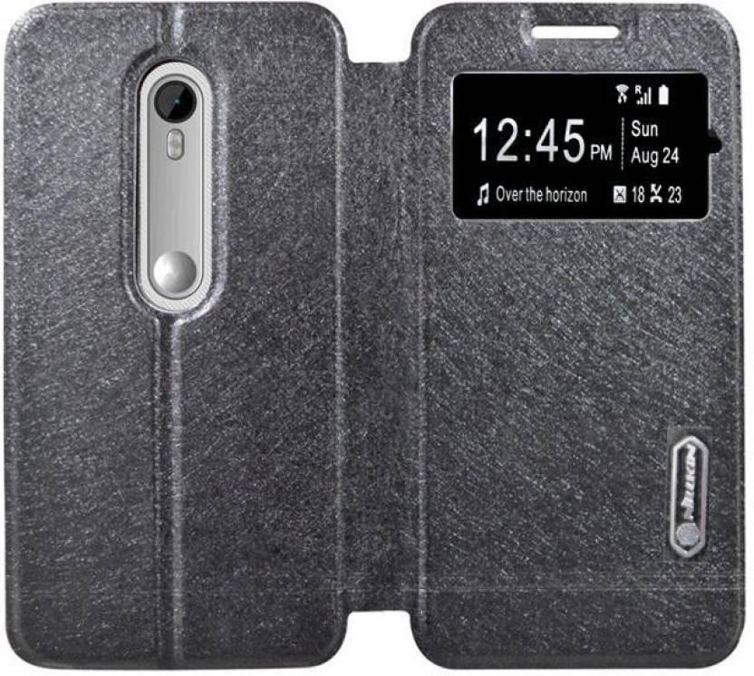 free shipping e22c7 e9273 COVERBLACK Flip Cover for Motorola Moto G3 (3rd gen)