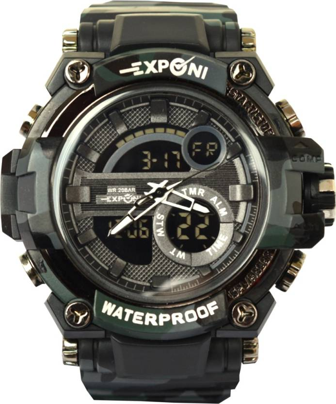 a90889243 VITREND (R-TM) New Exponi WR 20 BAR Stylish -NEW DESIGNED Analog & Digital  Sports Watch - For Men - Buy VITREND (R-TM) New Exponi WR 20 BAR Stylish  -NEW ...