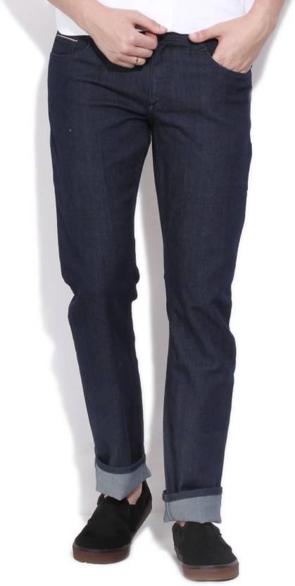John Players Slim Mens Dark Blue Jeans