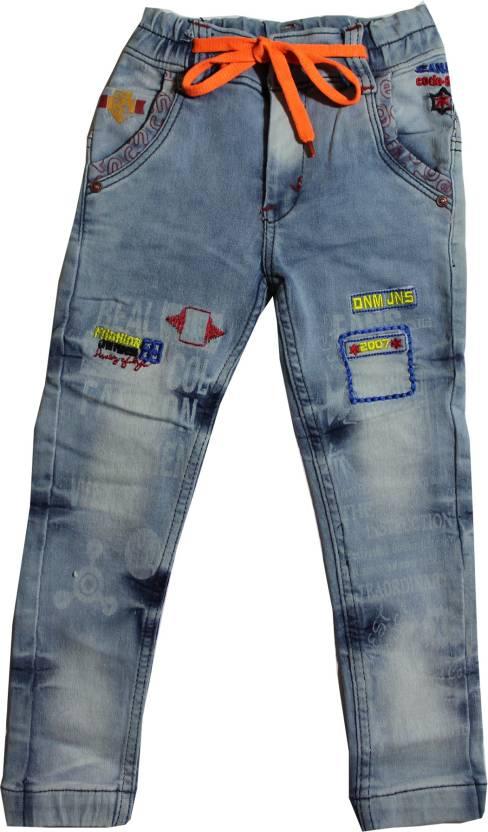 eb01ca7e6 TrendiGo Fashion Slim Boys Light Blue Jeans - Buy Light blue TrendiGo  Fashion Slim Boys Light Blue Jeans Online at Best Prices in India |  Flipkart.com