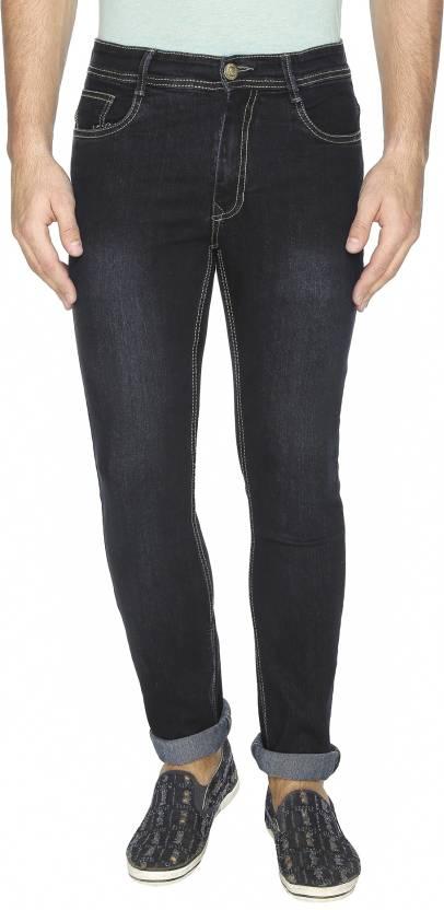 Ashtag Slim Mens Dark Blue Jeans