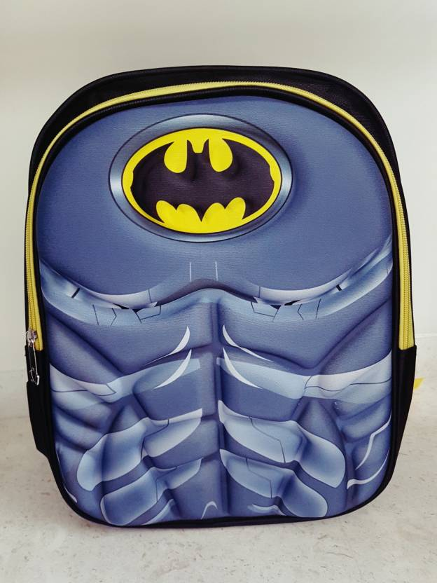 cd994e5130 Dreamy Designs BatMan 3D School Bag Waterproof School Bag