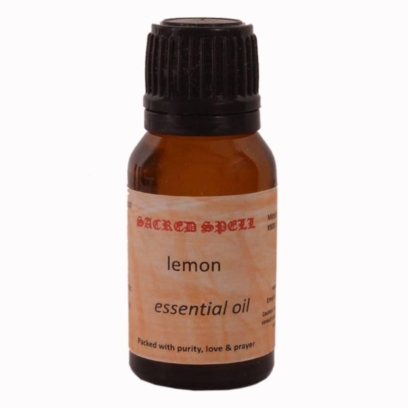 Purpledip Sacred Spell Lemon Oil 100% Natural - Suitable In Managing