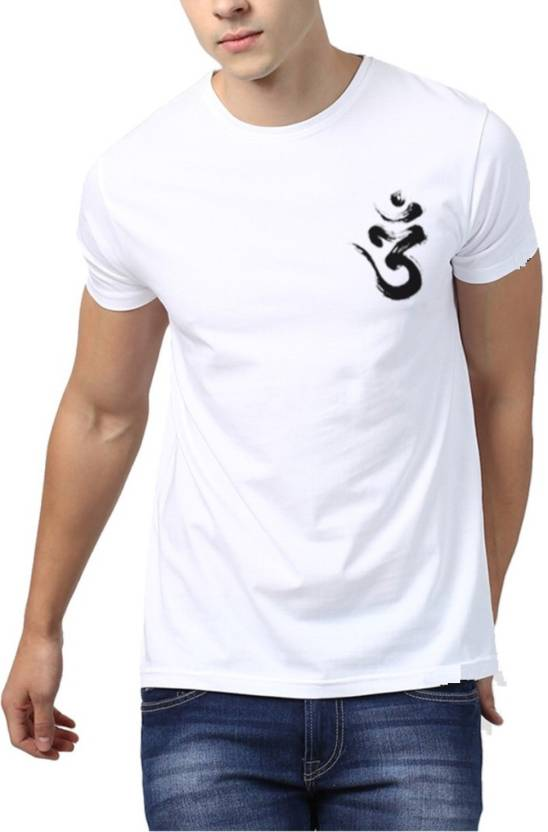 36429b644 attitude start of fashion Printed Men Round Neck White T-Shirt - Buy attitude  start of fashion Printed Men Round Neck White T-Shirt Online at Best Prices  in ...