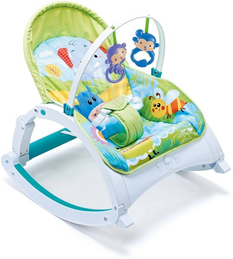 5932cd8a5b14 Webby Fiddle Diddle Baby Bouncer Cum Rocker Non-electric Bouncer ...