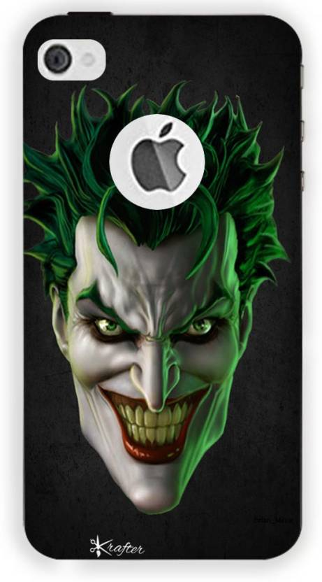 sale retailer 27ad6 e83f5 Krafter Back Cover for Krafter iPhone 5 Mobile Cover Joker Printed ...