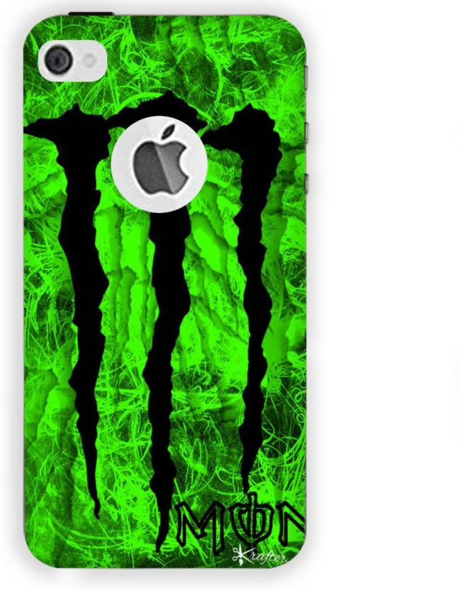 huge selection of dfdac faf59 Krafter Back Cover for Krafter iPhone 5 Mobile Cover Monster Printed ...