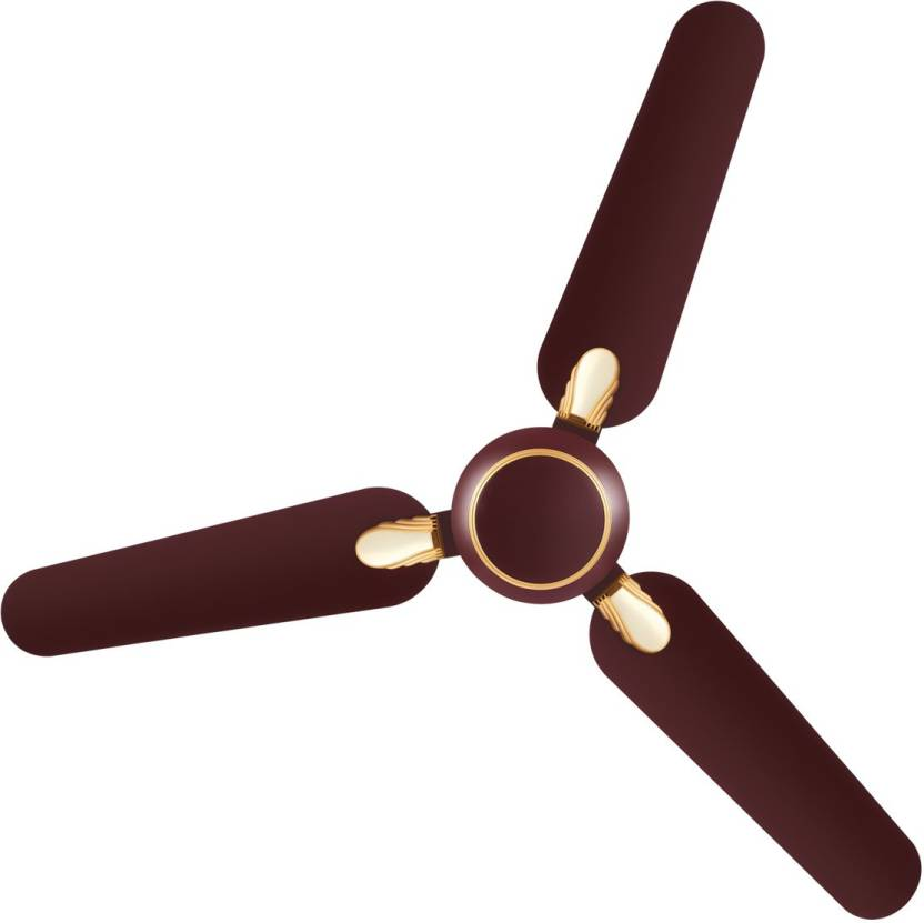 Luminous Dhoom 3 Blade Ceiling Fan Brown