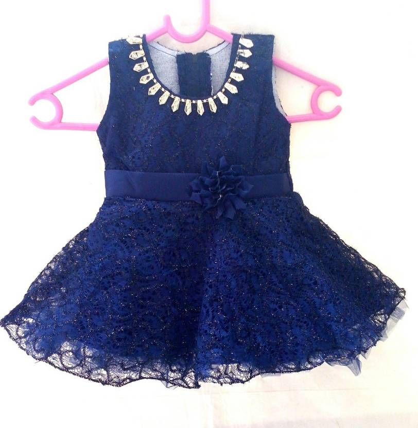 3ad7cd068 Sparqe Girls Midi Knee Length Party Dress Price in India - Buy ...
