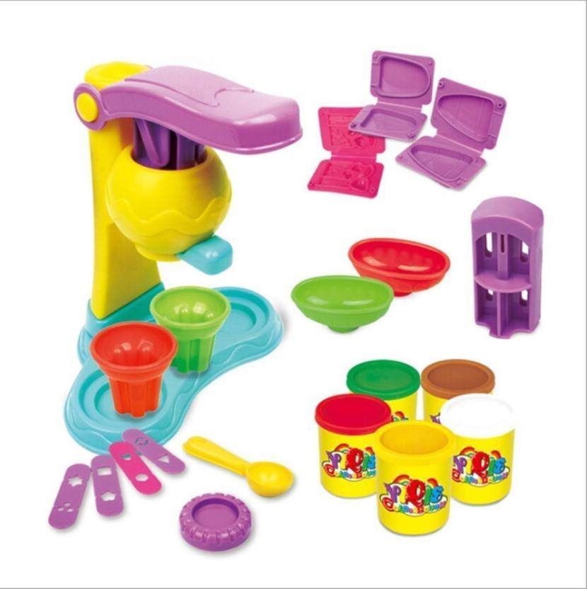 Toyshine Diy Ice Cream Clay Play Set Toy Price In India Buy