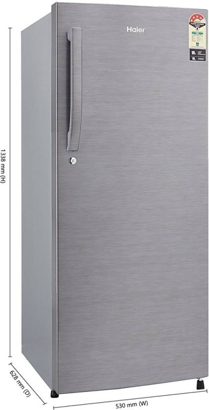 Haier 220 L Direct Cool Single Door 4 Star Refrigerator  at 15450 + extra 10% instant discount upto Rs 2000 on HSBC cards