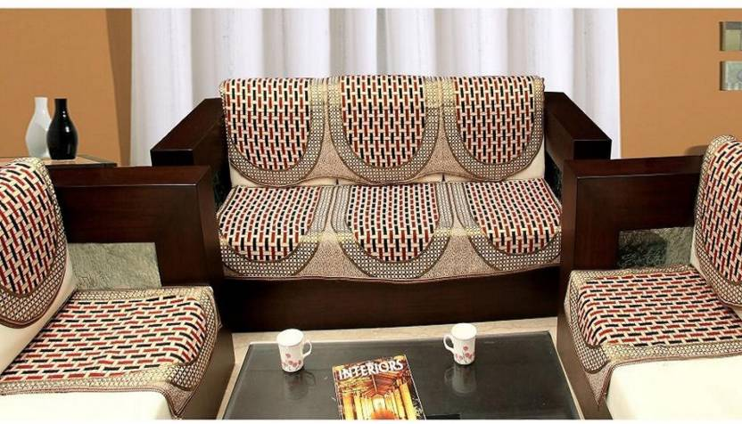 New Style Vg Cotton Sofa Cover Price In India Buy New Style Vg