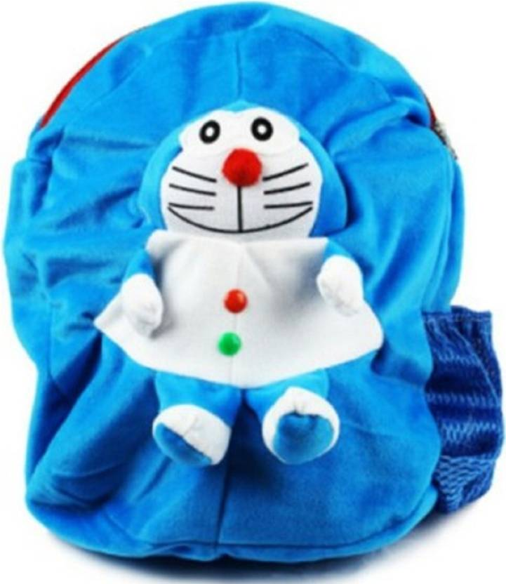 DZert School Bag For Kids Doramon Soft Plush Backpack For Small Kids  Nursery Bag (Age 2 to 6 Years) Plush Bag (Blue 4c00482889727