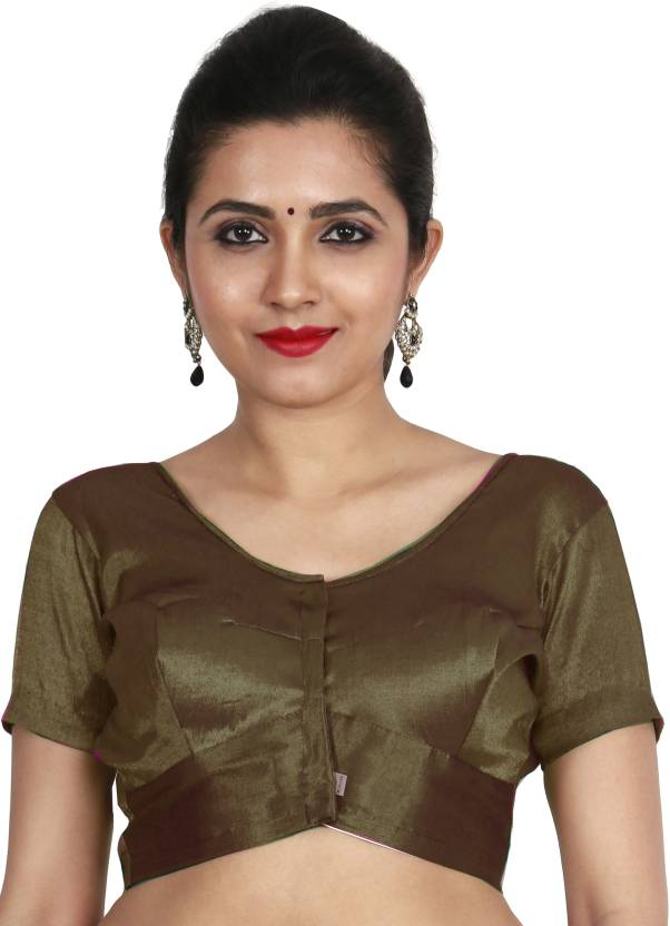 60684886fe7fa JISB Round Neck Women Stitched Blouse - Buy JISB Round Neck Women Stitched  Blouse Online at Best Prices in India