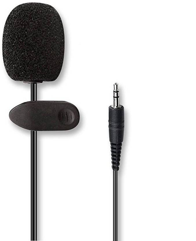 """RHONNIUM â""""¢ Mini Clip on Microphone Clips On Tie or Lapel 30Hz~15000Hz 3.5mm Plug Lavalier Or Personal Neck Mic Microphone"""