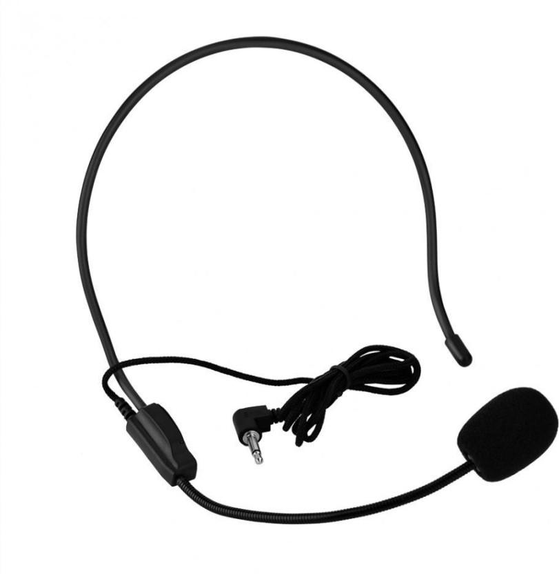 Vibex Fm Wireless Microphone Headset Megaphone Radio Microphone