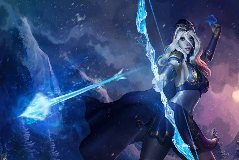 Exclusive Azohp2389 Ashe Fan Art Heroine League Of Legends Video