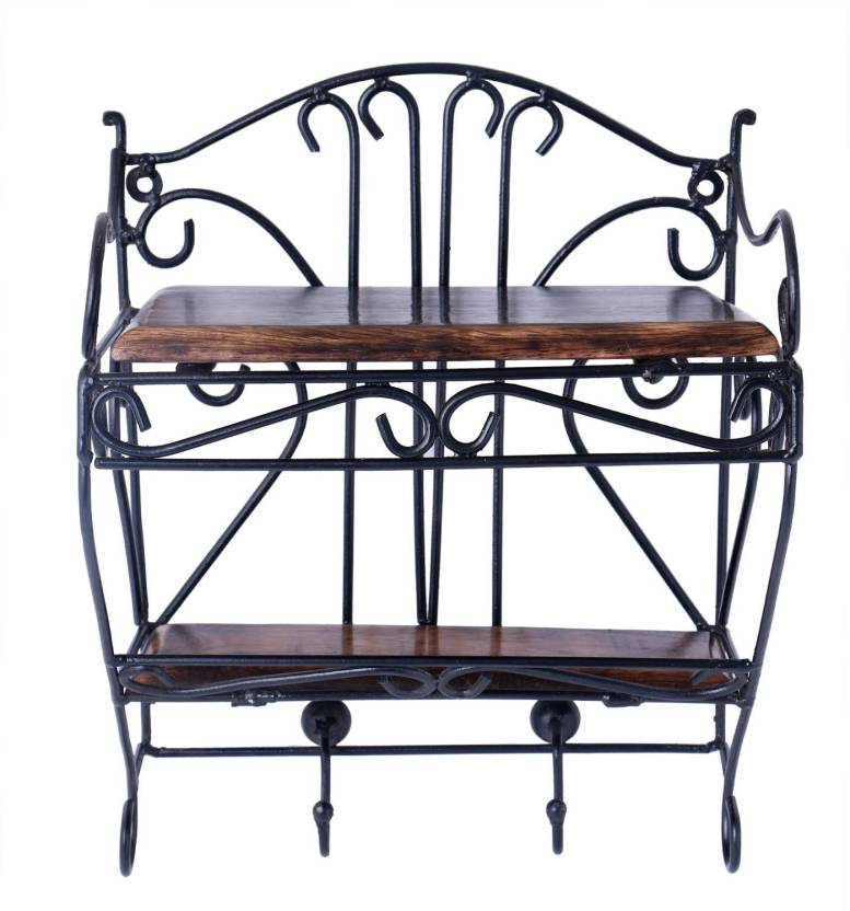 Craftpoint Wrought Iron Wall Hanging Set Top Box Wall Mount Set Top