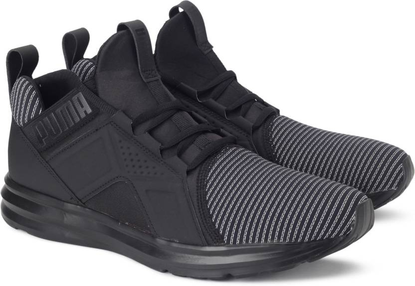 Puma Enzo Colorshift Running Shoes For Men (Black) bf01fe928154a