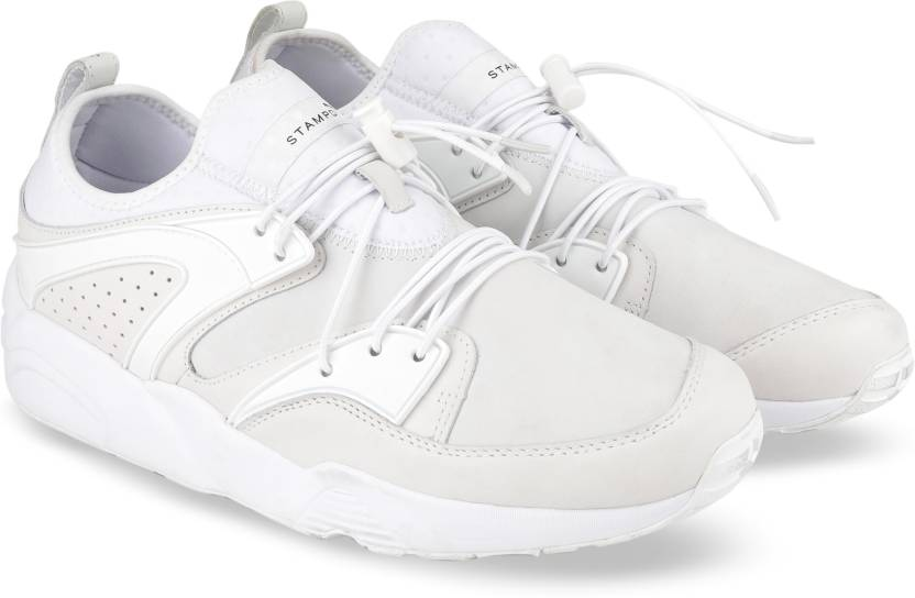 4ac7dd00cf11d Puma BLAZE OF GLORY X STAMPD Sneakers For Men - Buy white Color Puma ...
