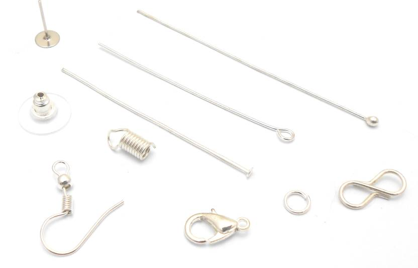 Jaz Jaz S Combo Pack All Silver Finished Findings For Jewellery