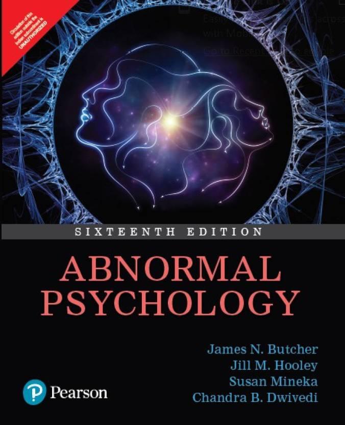 Abnormal Psychology Sixteenth Edition: Buy Abnormal
