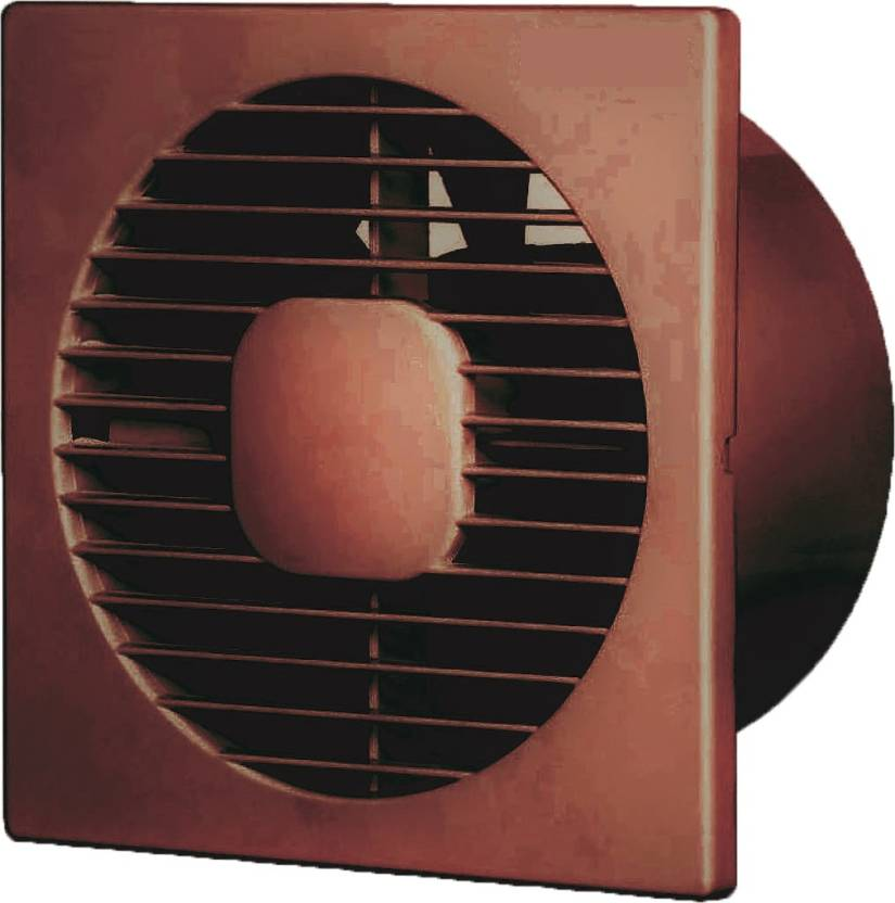 UTI Axial 150 mm 7 Blade Exhaust Ventilation Fan (Brown) 7 Blade