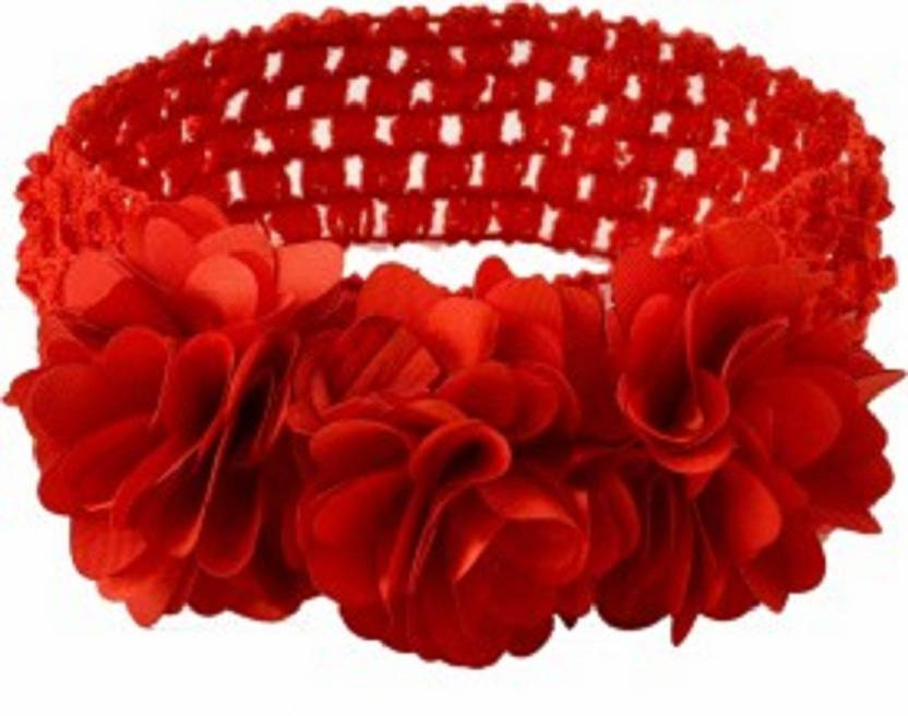 Moonlight Hair Band Baby Red Hair Band Price in India - Buy ... 0f685590471