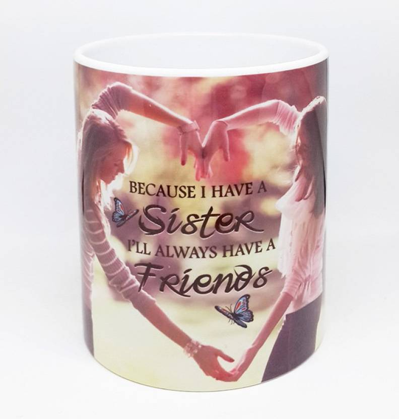 Printsways Happy Friendship Day Printed Ceramic Coffee For Your