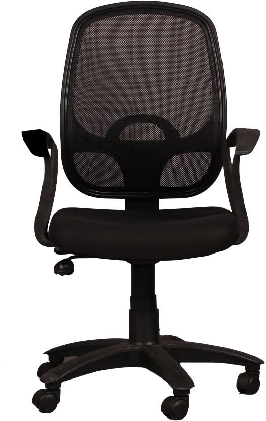 Ks Chairs Fabric Office Arm Chair