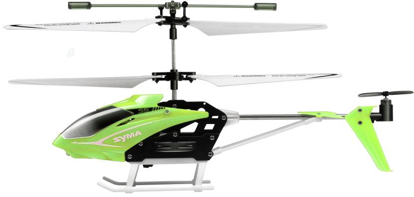 Miss & Chief Speed Helicopter with Gyroscope and LED Lights (Green)