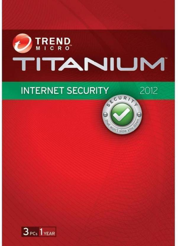 Trend Micro Internet Security - 3 PCs, 1 Year (Cloud Edition